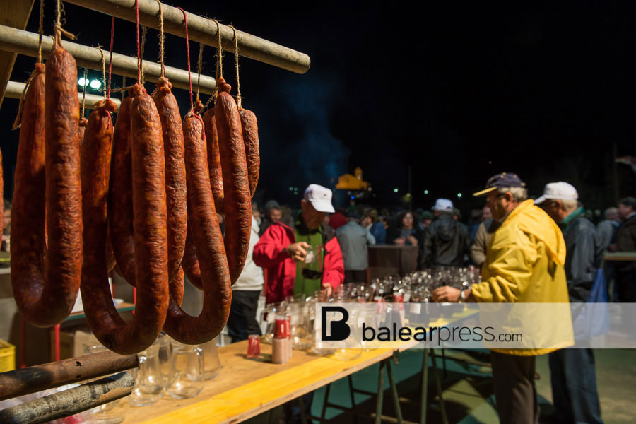Winterfest des Bauernweins in Sant Mateu, Ibiza