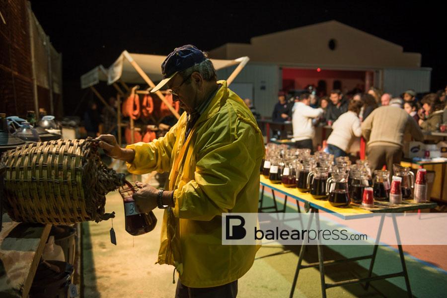 Winterfest des Weins in Sant Mateu, Ibiza