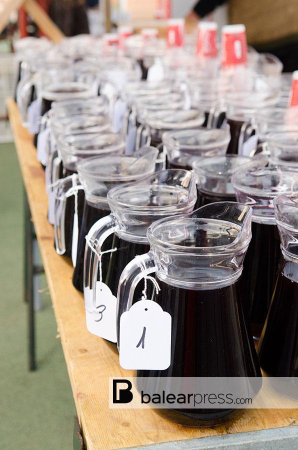 Weinfest der Bauern in Sant Mateu, Ibiza, Balearen