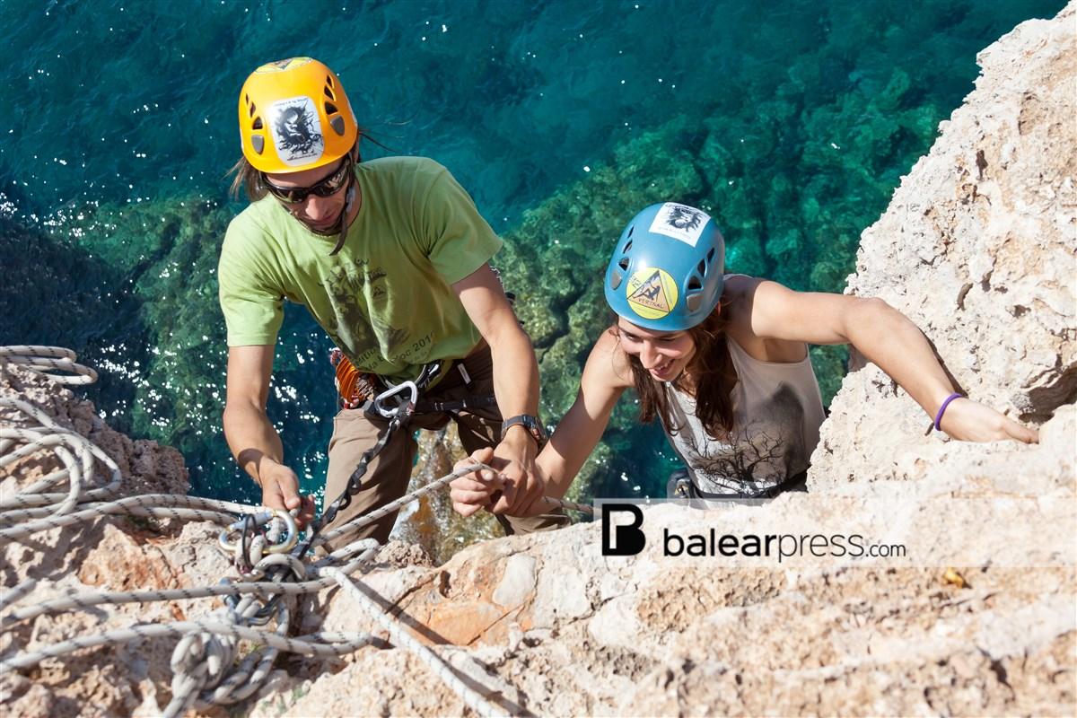 Klettern Cap Barbaria, Formentera