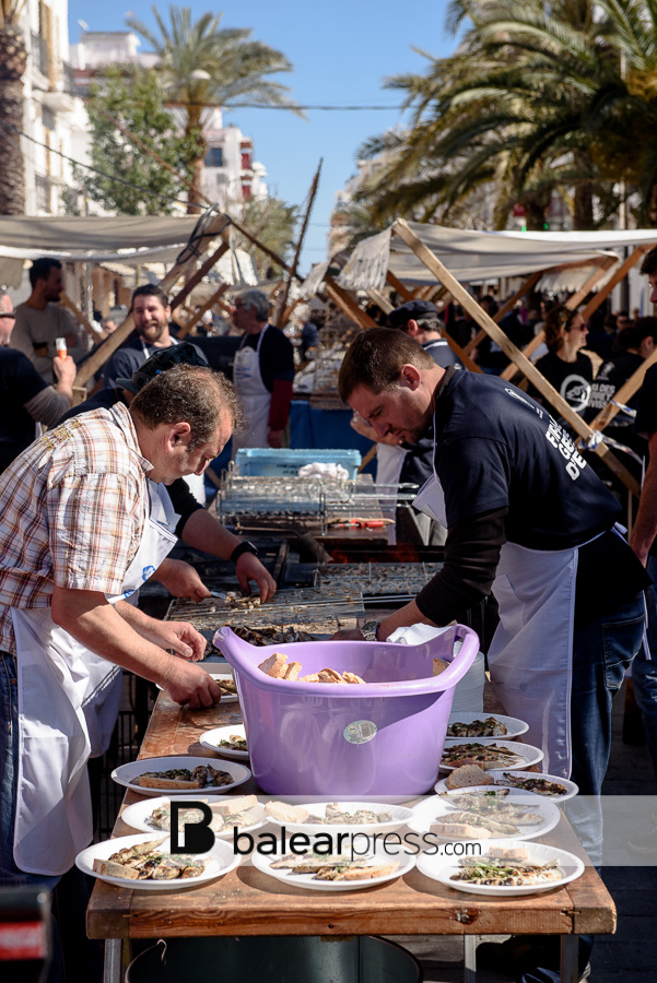 Meerbrassen-Fest auf Ibiza