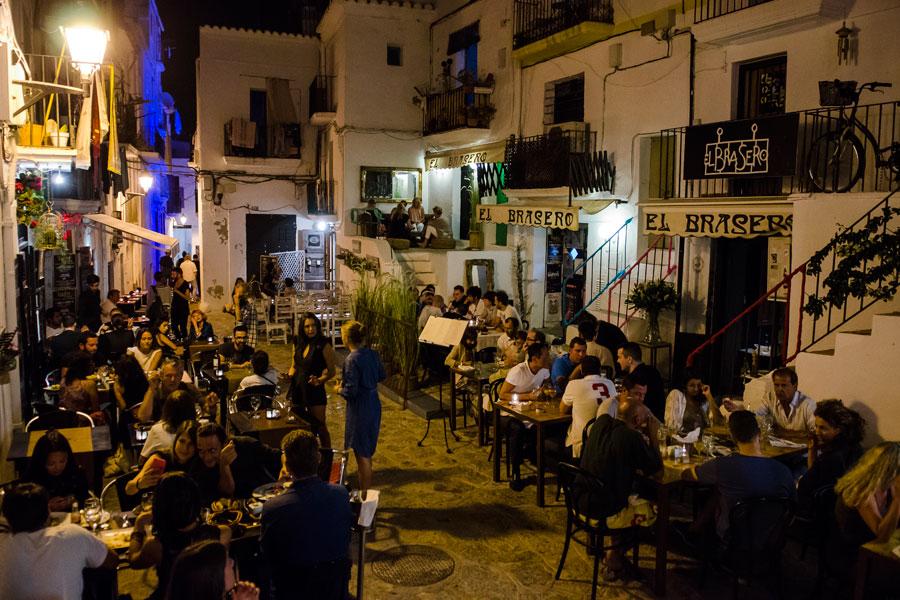 Ibiza vor dem Kollaps